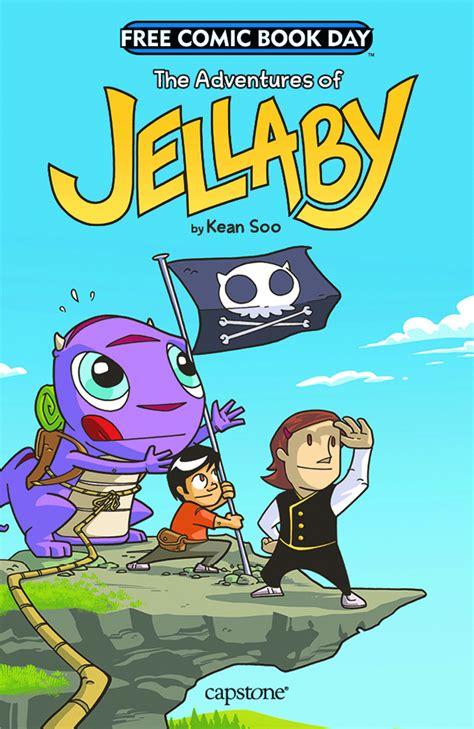 free comics free comic book day adv of jellaby
