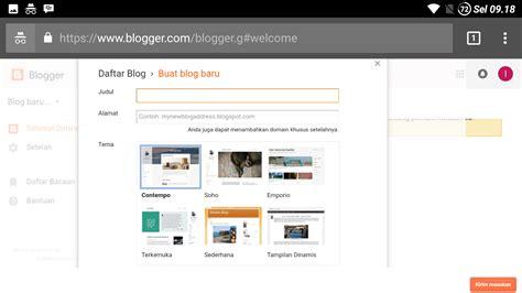 cara membuat website gratis lewat android cara membuat blog gratis lewat android cara membuat blog