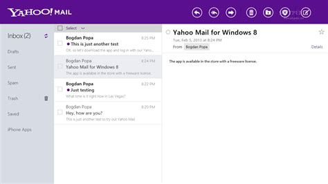 yahoo mail layout problem yahoo mail for windows 8 review