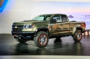 chevrolet colorado zr2 concept 2016 2017 truck