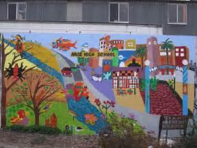 school wall murals arise high school mural jmac