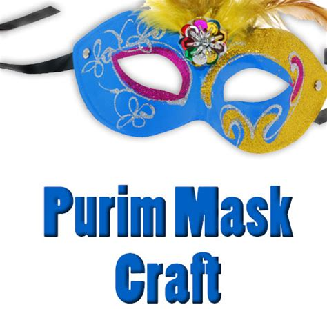 purim mask craft behrman house publishing