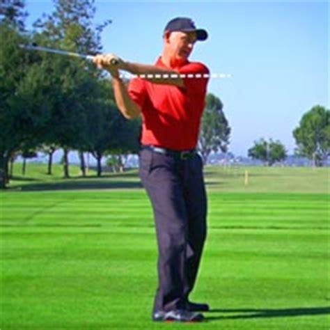 shoulder plane golf swing swing characteristics tpi