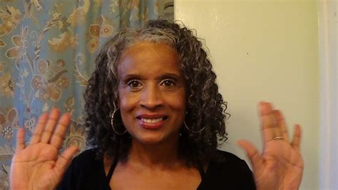 youtube natural hairstyles for womem over 50 flat twist twist out on gray silver hair youtube
