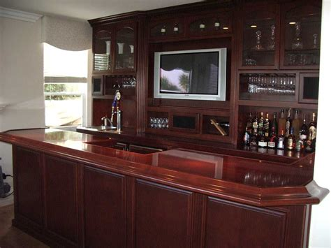 Built In Bar Cabinets Built In Home Bar Cabinets In Southern California Woodwork Creations
