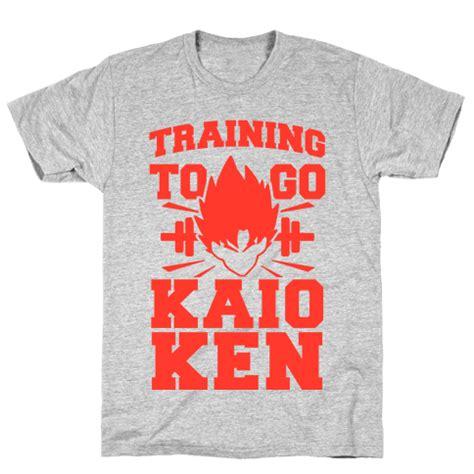 Tshirt Kaio Ken to go kaio ken tshirt human