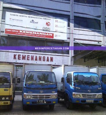 Kertas Di Toko Kemenangan Alamat Toko Kertas Di Jakarta Nomor Telp Lengkap Mesin