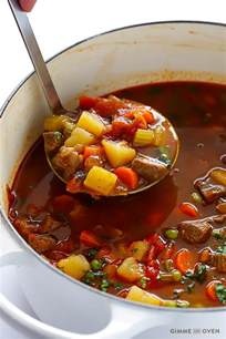 vegetable beef soup gimme some oven