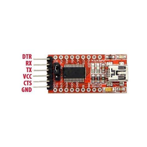 Ft232rl Ftdi Usb To Ttl Serial 33v5v Adapter Module For Arduino ftdi usb to ttl serial converter adapter ft232rl in bangladesh
