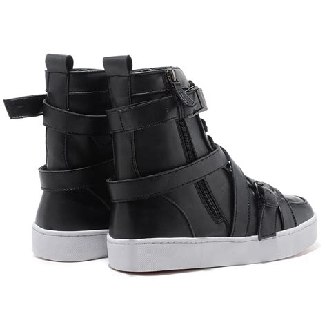 christian louboutin spacer flat high top s sneakers