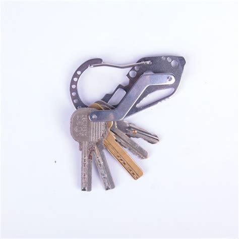 Edc Outdoor Equipment Multifunction Quickdraw Belt Guard Key Holder outdoor multifunction quickdraw edc equipment guard key holder with stainless steel carabiner