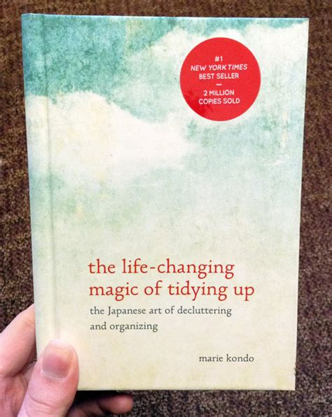 changing magic tidying decluttering organizing