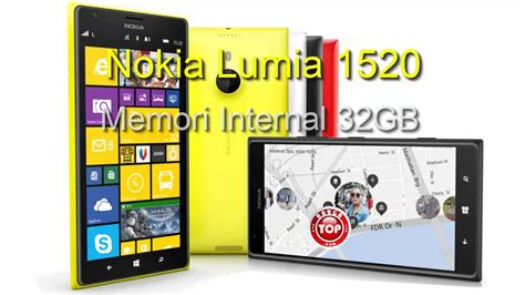 Hp Nokia 6 Inci nokia lumia 1520 hp 6 inci quadcore kamera 20 mp harga indonesia