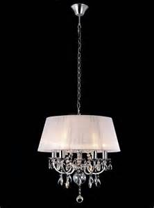 white chandeliers uk madmoiselle white shaded chandelier