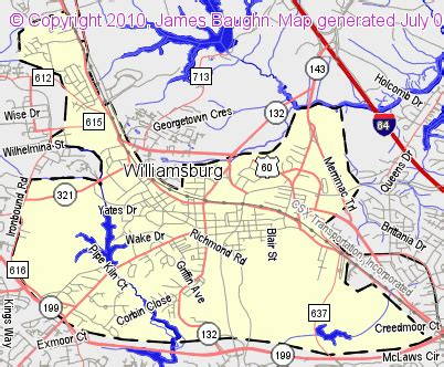 bridgehunter.com   williamsburg, virginia