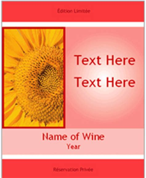 make your own wine labels free templates free wine bottle label templates onlinelabelscom
