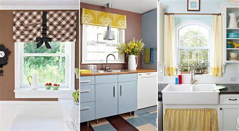 kitchen window covering ideas 2018 diy kitchen window treatments ideas to