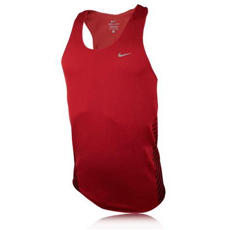 Singlet Nike nike race day singlet sleeveless running vest sportsshoes
