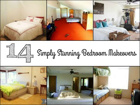 boring bedroom makeover 14 simply stunning bedroom makeovers