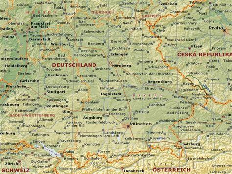 bavaria germany map dot germany iii bavaria map 1