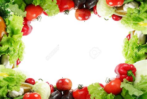 r fruits and vegetables fruit and vegetables clipart border