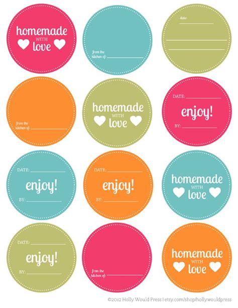 printable homemade stickers 17 best images about free mason jar printables on