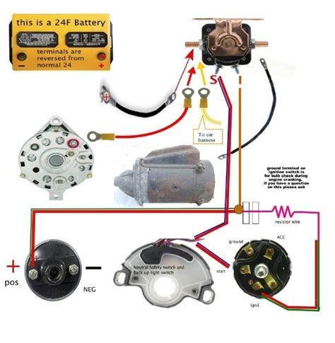 1966 mustang neutral safety switch wiring diagram gallery