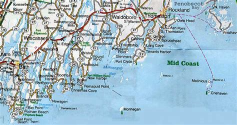map of maine coast coastal maine map kansas map