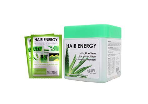 Catokan Makarizo cara merawat rambut rusak dan bercabang dengan hair energy and laugh