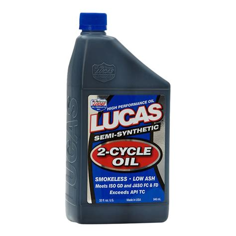 Lucas Semi Synthetic 2 Cycle lucas 174 10110 semi synthetic 2 cycle 1 quart