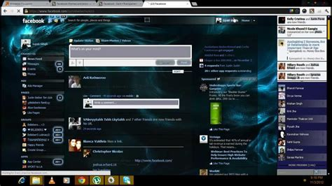 themes on facebook timeline how to change the theme background of facebook timeline in
