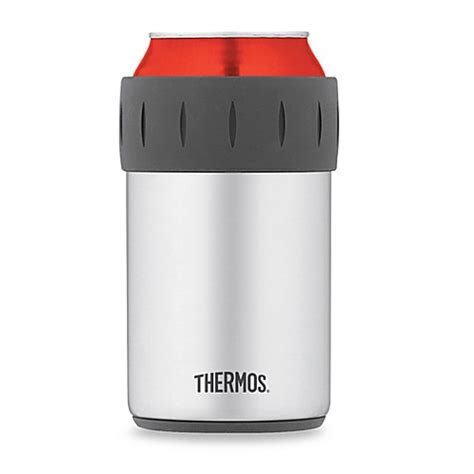 thermos 174 vacuum insulated beverage can insulator bed