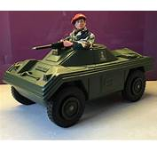 Vintage Action Man Scout Car  GI Joes Toys
