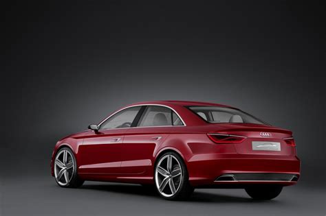 Audi A3 Concept by Audi A3 Sedan Concept Hits The Geneva Motor Show