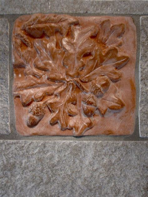 piastrelle terracotta mattonelle in terracotta a bassorilievo balzo