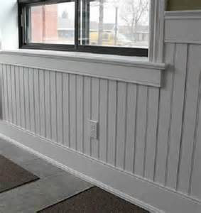 beadboard pvc wainscoting for the