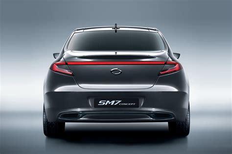 renault sm7 renault reveals sm7 concept autoevolution