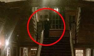 houston man captures photo  eerie ghost figure