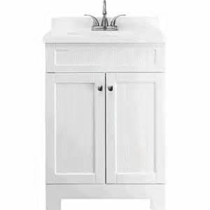 Ellenbee White Vanity Style Selections 25 In Was Ellenbee White Bathroom Vanity