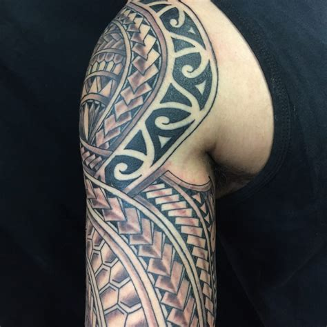 tribal tattoos san diego polynesian tattoos funhouse san diego