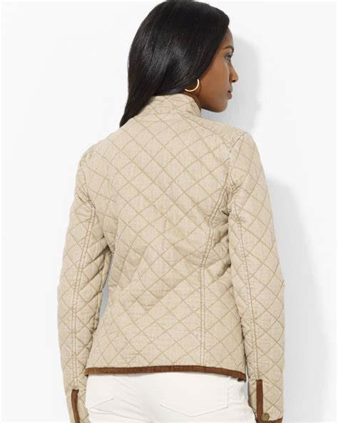 Ralph Plaid Quilted Vest by Ralph Quilted Jacket With Plaid Lining In