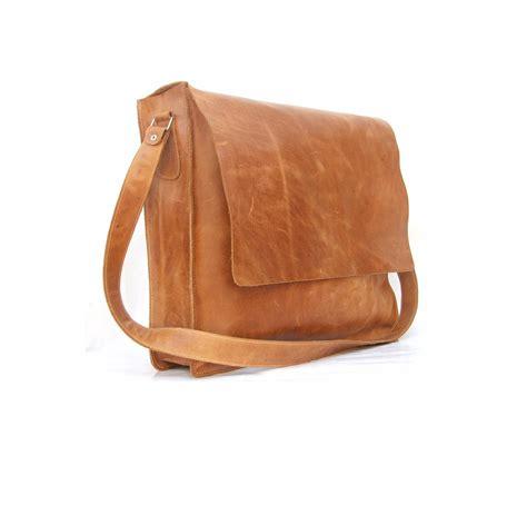 mens brown leather messenger bag messenger bag mens unisex brown leather satchel leather