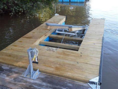 jet ski boat kit diy single jet ski lift dock kit lake ideas pinterest