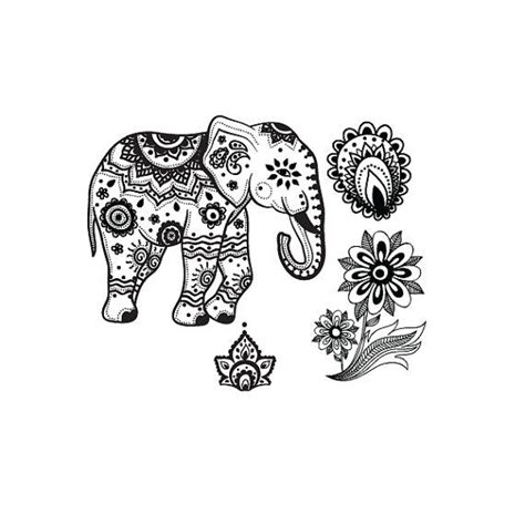 hindu elephant tattoo designs 59 best coloring pages elephant images on