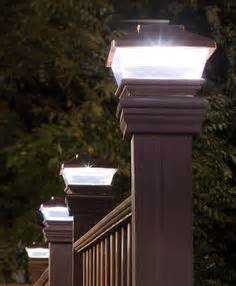 commercial l posts outdoor lighting led solar powered copper plastic outdoor post deck square