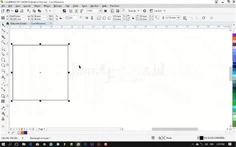 coreldraw bitmap pattern fill tutorial coreldraw dasar cara memberi warna pada objek