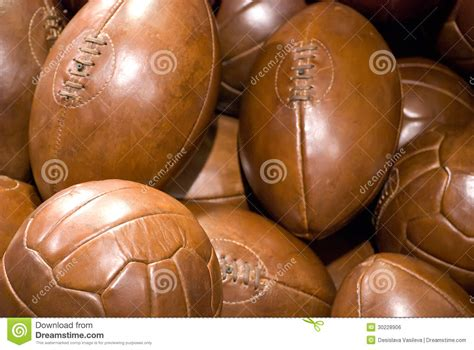 old leather balls royalty free stock image image 30228906