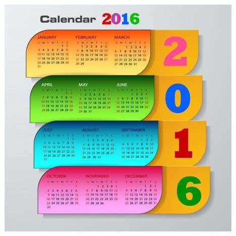 Buy Calendar 2016 Calendar 2016 Template Vectors Stock In Format For Free