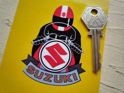 Sticker Helmet Full Face by Suzuki Full Face Helmet Red Cafe Racer Sticker 3 Quot