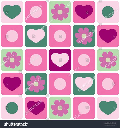 valentine pattern vector valentine s day pattern seamless vector 46096582